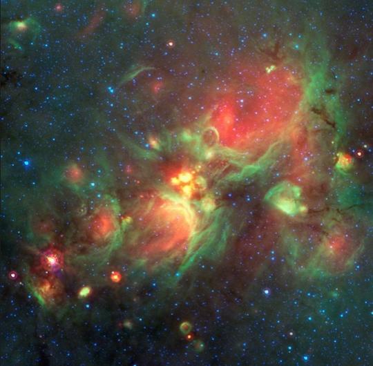 W3 Star-forming Region